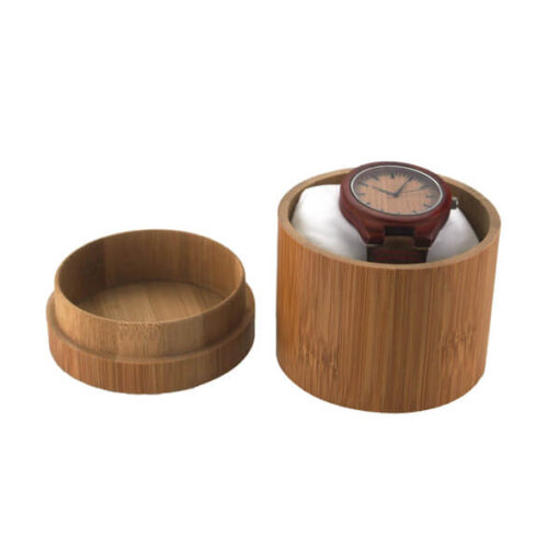 Bambusz karóra doboz